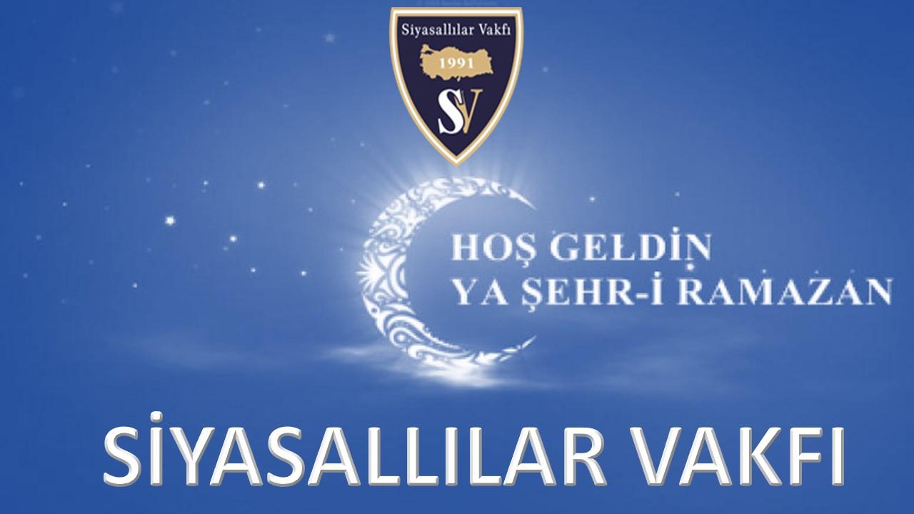 Ramazan-ı Şerifiniz Hayırlı ve Mübarek Olsun..